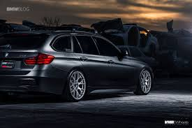 bmw wagon custom bmw f31 sports wagon gets some visual upgrades and custom wheels