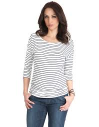 nursing top breton striped maternity nursing top seraphine