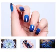 1 bottle 12ml thermal nail polish temperature color changing nail