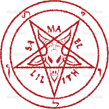 Inverted pentagram - Stock