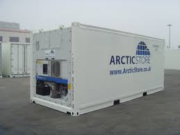 used 20 foot refrigerated high cube shipping containers for sale