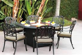 Gas Patio Table Pit Pit Set Patio Furniture Outdoor With Gas Table