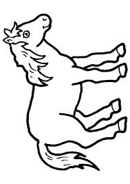 Coloriage cheval 7 sur Hugolescargotcom