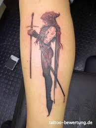 death woman holding sword tattoo on skin tattoos book 65 000