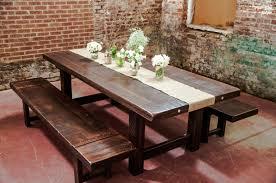 Wood Dining Room Furniture Rustic Wood Dining Room Table