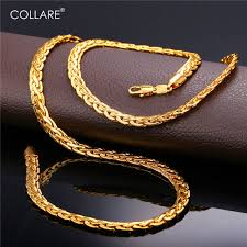 aliexpress buy new arrival men jewelry gold silver aliexpress buy collare snake link chain for men gold black
