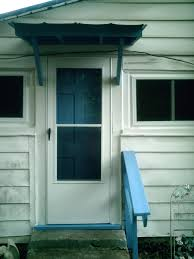 Patio Door Awnings Awesome Metal Awnings For Front Door Design Canopy Design For
