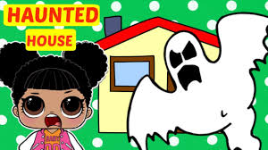 haunted houses clipart lol surprise doll haunted house part 4 youtube