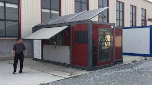 20ft expandable wooden color japan container house luxury youtube