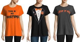 jcpenney com women u0027s u0026 pet graphic halloween t shirts only 1 19