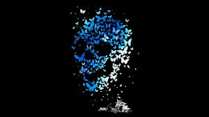 butterfly skull walldevil