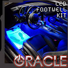 Dodge Challenger Interior Lighting Ambient Led Lighting Footwell Kit By Oracle Mr Kustom Auto