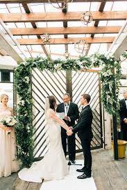 los angeles weddings sophisticated botanical los angeles wedding at madera kitchen