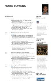 Business Development Resume Examples by Director Of Business Development Resume Samples Visualcv Resume