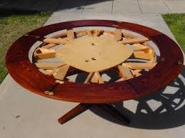 home design expanding circular dining table in walnut youtube