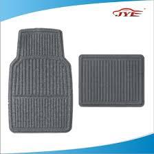 black two tone standard car truck suv carpet vinyl car floor