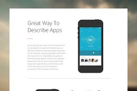 adobe muse mobile templates adobe muse mobile app single page website templates creative