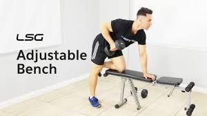 lifespan fitness gbh 002 adjustable bench youtube