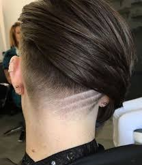 haircuts for thin stringy hair 66 shaved hairstyles for women that turn heads everywhere