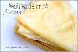 cuisiner la feuille de brick feuilles de brick maison inratable recettes faciles recettes