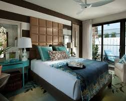 blue and brown bedroom houzz