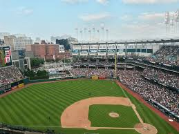 Baseball Usa Houston Field Map by Progressive Field Cleveland Indians Ballpark Ballparks Of Baseball