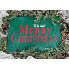 we say merry doormat