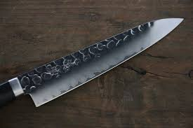 seisuke vg1 hammered petty utility japanese chef knife 135mm
