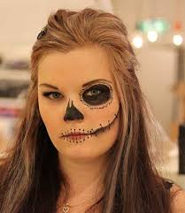 easy halloween makeup and hair ideas