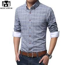 modern shirts spring casual men shirt cotton linen mens dress