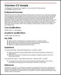 Resume With Volunteer Writing A Resume With Volunteer Experience Resume Pdf Download