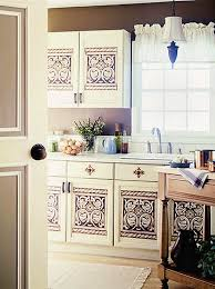 stencils for kitchen cabinets update boring builder s cabinets kitchen cabinet doors stenciling