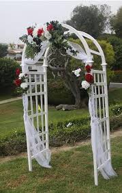 wedding arch decorations wedding arches white lattice arch shown in photos above flowers