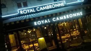 bureau de change 75015 front facade of cafe picture of le royal cambronne