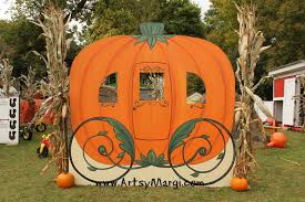 pumpkin carriage artsy margi day 17 pumpkin carriage