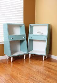 mid century modern nightstands given a contemporary look hometalk