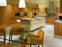 kitchen island with dining table attached cookerware shelves white