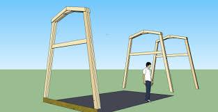 tiny gambrel frame house design frame truss