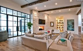 Wohnzimmer Ideen Decke Wohnwand Ideen Echtholz Eiche Hell Modernes Wohnzimmer Einrichten