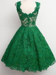 aliexpress com buy great design emerald green lace cocktail