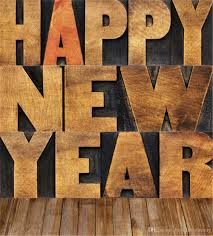 new year backdrop digital printed 3d alphabets happy new year family photography