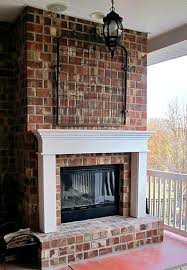 a mantel for the back porch fireplace hometalk