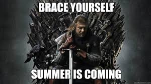Summer Is Coming Meme - brace yourself summer is coming emo ned stark game of thrones