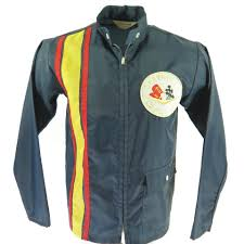 corvette racing jacket vintage 60s corvette racing jacket mens s stripe chevy chevrolet