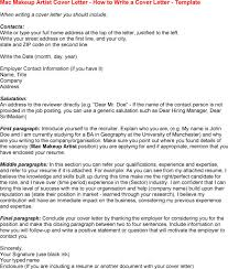 Jobs For Makeup Artists Makeup Artist Cover Letter My Document Blog
