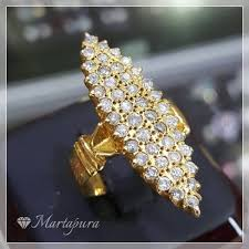 model berlian cincin berlian model getas permata martapura