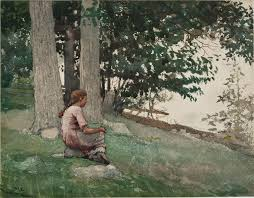 Forest And Waves State Of by Learn More About Winslow Homer Portland Museum Of Art
