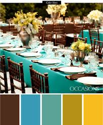 turquoise and brown lowcountry rehearsal dinner celebration