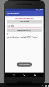 android intent exle android er exle of intentservice and broadcastreceiver
