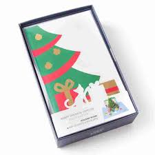 boxed cards room pop up boxed christmas cards set of 6 boxed